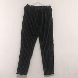 🚚 條紋冬季長褲