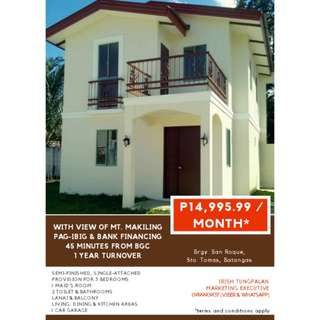 Affordable Near RFO Single-attached H&L Batangas