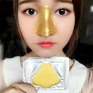 Masker hidung kolagen emas