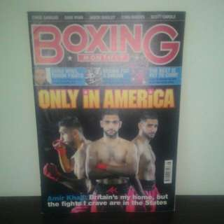 BOXING Magazine (AUG 2015) - UK Edition
