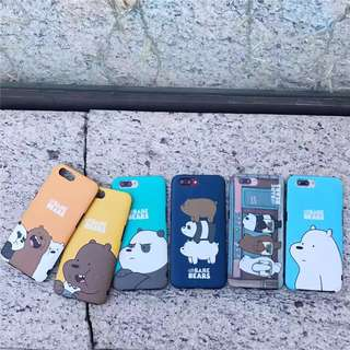 [2 for $22!] BN We Bare Bears Soft Case For Oppo Phones