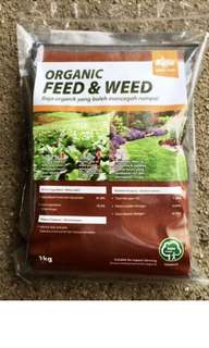 BABA Organic Feed & Weed (1 Kg/Bag) - preordering required