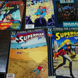 DC Comics Lot of 5