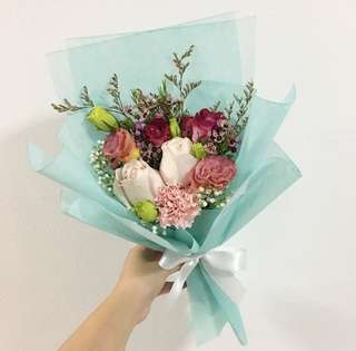 Rose Bouquet with Mix Fillers / Birthday Bouquet