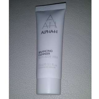 Genuine new and sealed Alpha H balancing cleanser 15ml travel size