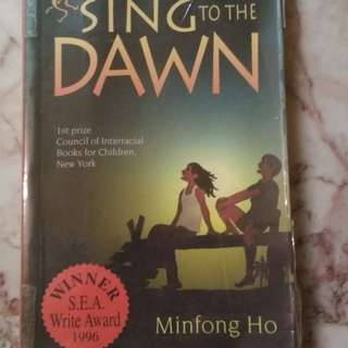 Sing to the Dawn by Mingfong Ho