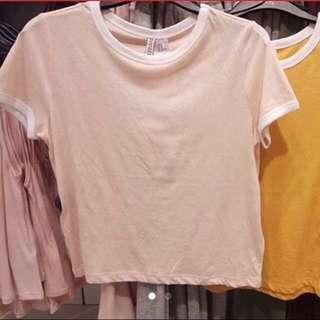 HnM basic shirt ringer tee