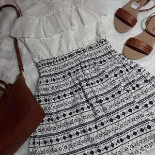 WHITE KOREAN DRESS