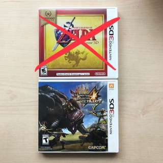 PRICE DOWN ⬇️WTS/WTT 3DS Games