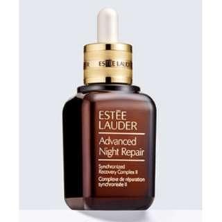 Year 2018 Half bottle of Estee Lauder Advanced Night Repair