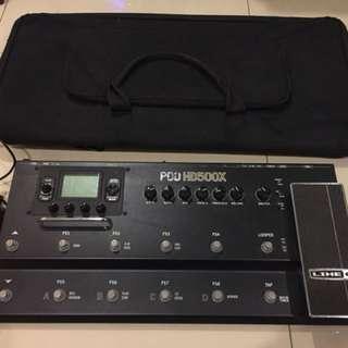 Line6 HD500X
