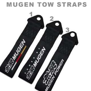 Mugen Tow Straps