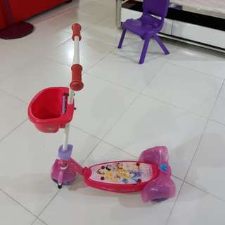Children toy scooter for girls
