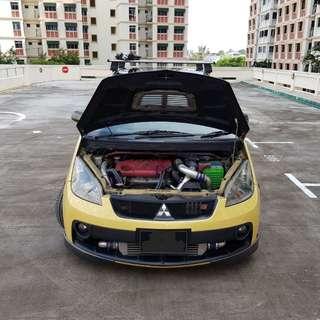 Dekit Mitsubishi colt plus turbo