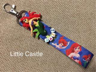 Princess Ariel Customize Name Tag - Customer's order