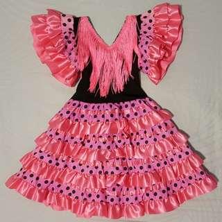 Kids Flamenco Costume (1-2 Years Old)