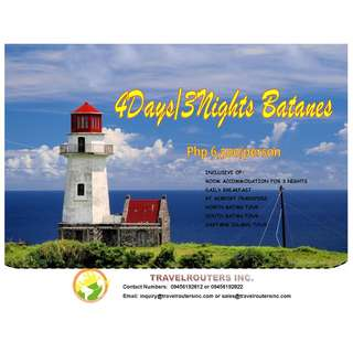 BATANES PACKAGE