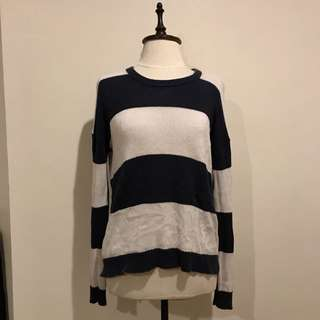 Forever 21 Knitted Striped Sweater