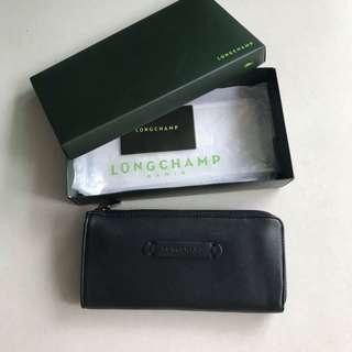 Longchamp Wallet ( black )
