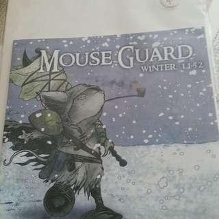 Mouse guard winter comic