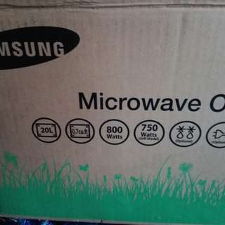 New SAmsung microwave oven