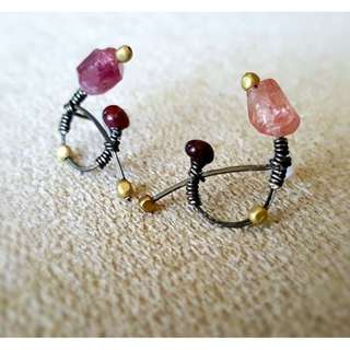 HANDMADE! Crystal Earrings 10070