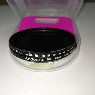 Andoer Variable ND Filter 49mm