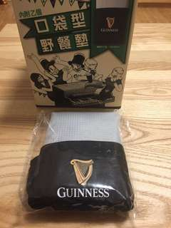 Guinness 健力士口袋型野餐墊