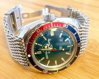 Vostok amphibia dive watch