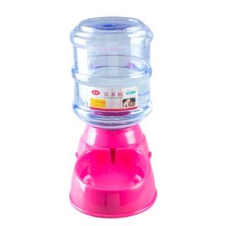 {InStock} Automatic Pet Food/Water Dispenser WD19 (Pink Color)