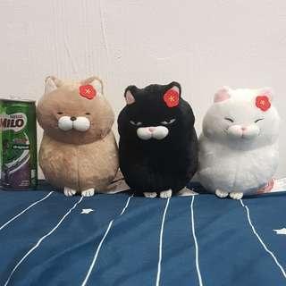 Fat Neko Cat Soft Toy