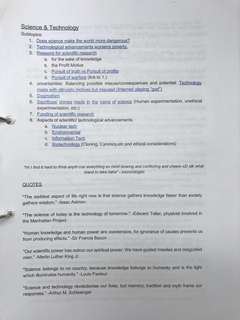 A'Level General Paper Compiled Notes and Readings