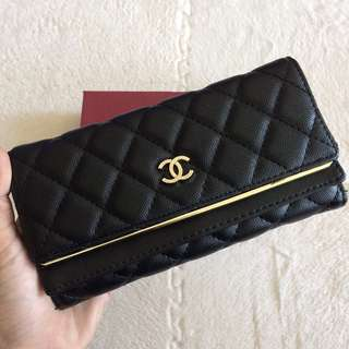 [LELONG‼️] CHANEL Purse Wallet With Box
