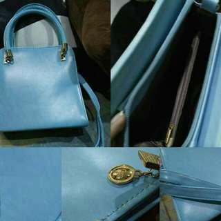 2Way Blue Sling Bag