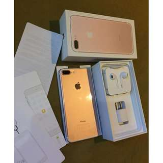 iphone 7 Plus 32gb Rose Gold Factory Unlocked Openline Complete