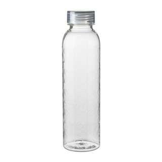 IKEA Water bottle (transparent/lid grey)
