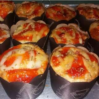 Pizza cup smoke beef