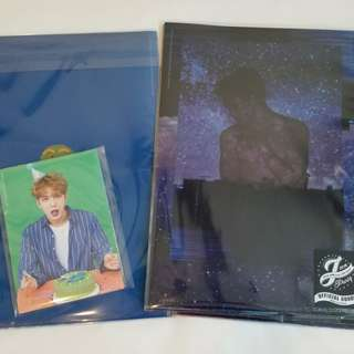 JYJ Kim Jae Joong 2018 J Party 周邊 - Clear File + Postcard set