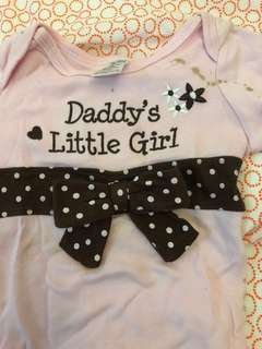 To give away -Baby Romper - girl