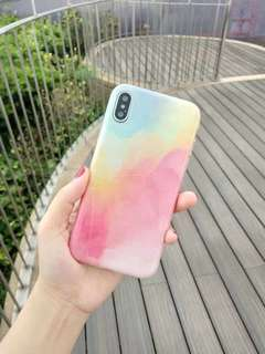Pastel sky case for iPhone 6plus and 7plus