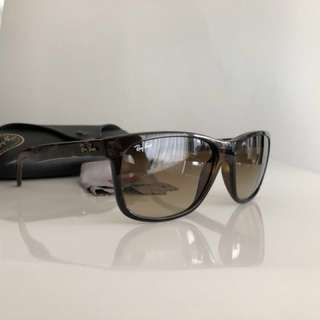 Ray Ban Brown Gradient Lenses Tortoise Frame