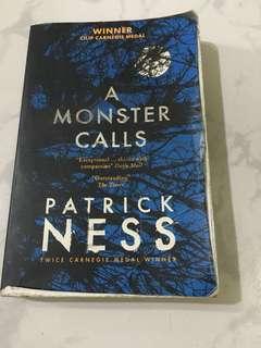 A Monster Calls storybook
