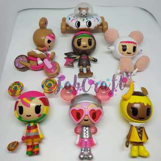Tokidoki Donutella and her Sweet Friends Series 5