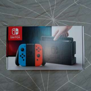 BNIB (local warranty) Nintendo Switch