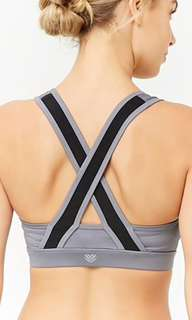 Forever 21 crossback Sports Bra