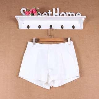 [INSTOCKS] Ladies White Shorts