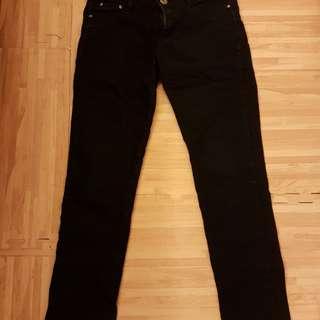 顯瘦,個性黑牛仔褲