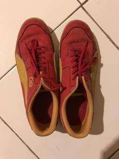 Puma Red-Orange Casual Running-Sneaker