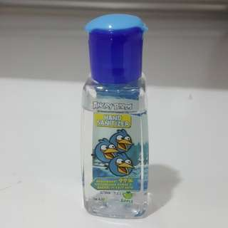 Hand sanitizer angry bird