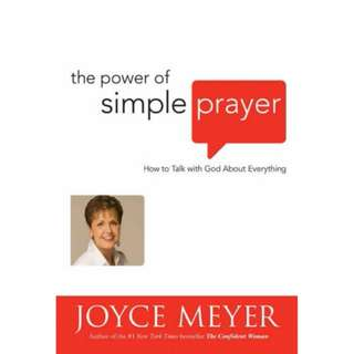 [eBook] The Power of Simple Prayer - Joyce Meyer
